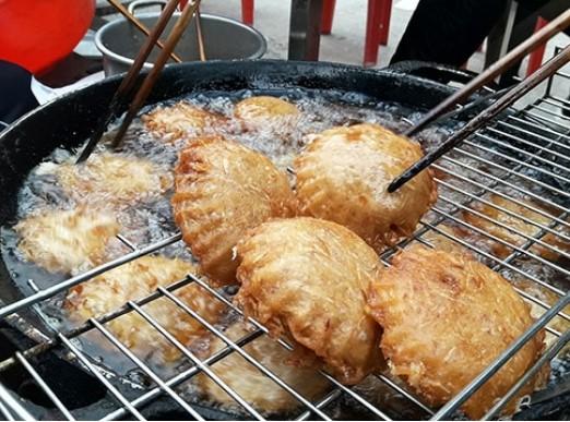 Cách làm bánh áp chao Cao Bằng