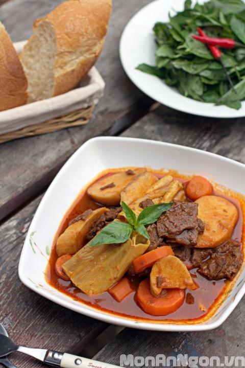 Cách làm món bò kho chay ngon bổ dưỡng