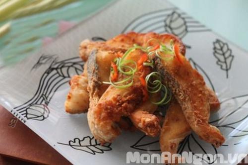 Cách làm món cá lóc chiên sả ớt