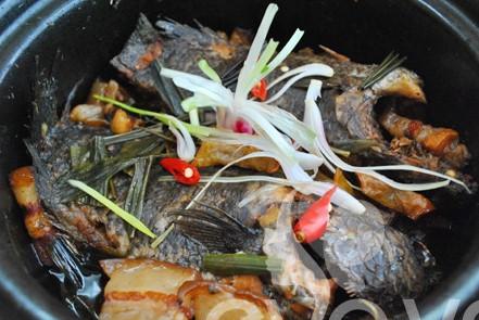 Cá rô kho khế hương vị truyền thống