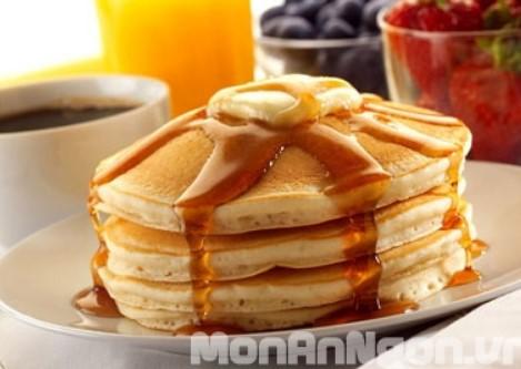 Cách làm món bánh Pancake thơm