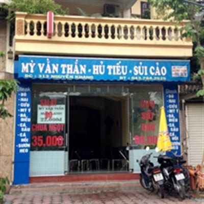 Mỳ vằn thắn – Hủ tiếu – Sủi cảo – Nguyễn Khang