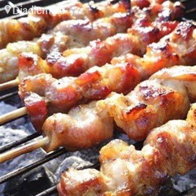 Thịt Xiên Nướng –  Quang Trung