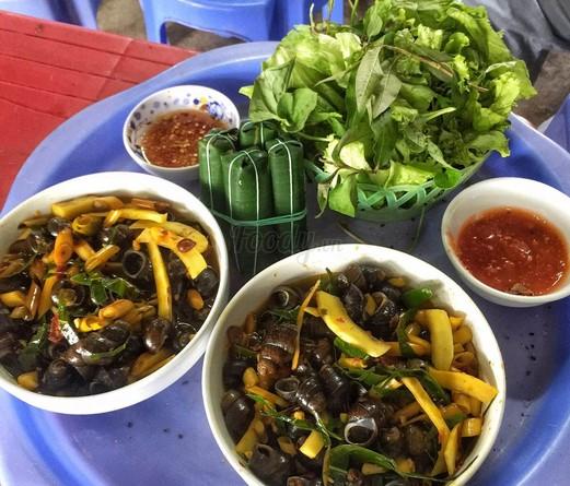 Top 10 quán ốc ngon ở TP Vinh, Nghệ An.