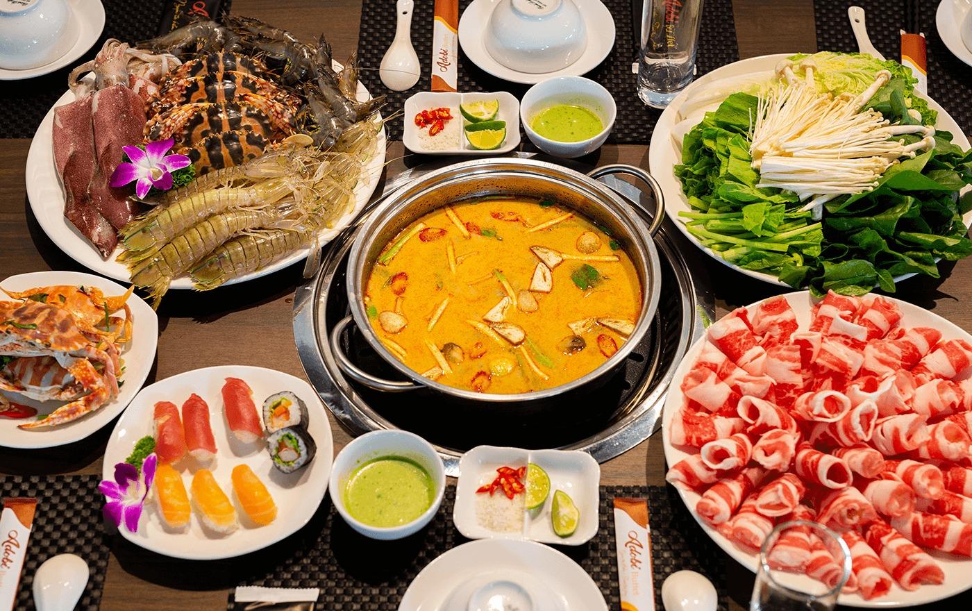Nên ăn gì ở đường Nguyễn Cơ Thạch, Q.NTL